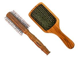 WOODEN HAIR BRUSH