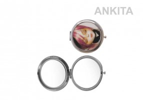 COMPACT METAL MIRROR