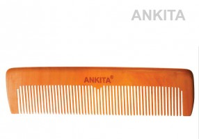 WOODEN HAIR COMB